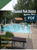 2014 Summer Summit Park District