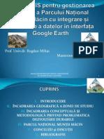 Aplicații GIS Pentru Gestionarea Durabilă a Parcului Național