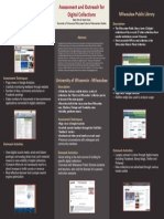 Assessment & Outreach for Digital Collections Poster (Seitz & Otto)