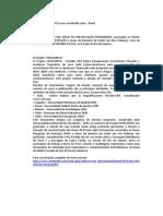 Ricardo Castro Nunes de Oliveira - Projeto SERELAREFA