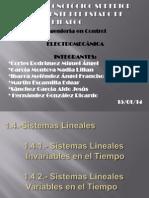 1.4. Sistemas Lineales