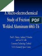 A Microelectrochemcal Study of FSW Al 6061-T6