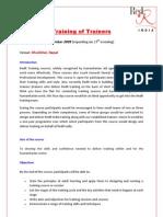 TOT Course Details
