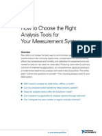 7-How to Choose Analysis Tools