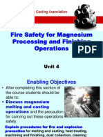 4 Magnesium Processing Operations