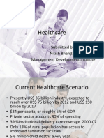 Healthcare Nitish Bhandari MDI