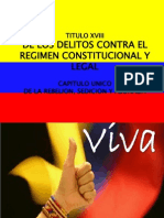 Delitos Contra Regimen