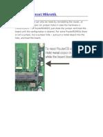 Hardware Reset Mikrotik
