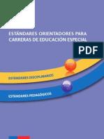 Estándares Para La Formación Inicial Educ. Especial