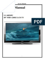 Sharp (Made in China) LC-60E69U Lcd Tv Service Manual