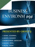 Environment Analysis G2.