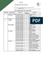 UCV Structura an Universitar 2013 2014 (2)