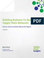 Building B2B Supply Chain Networks-Who Are the Players-24 APR 2014