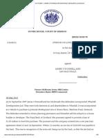 Royal Bank of Scotland v o'Donnell and Mcdonald