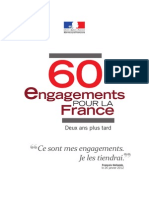 60 Engagements Pour La France - 2 Ans
