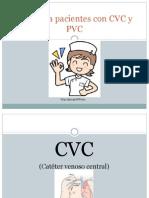 Análisis PAE Para Pacientes Con CVC y PVC