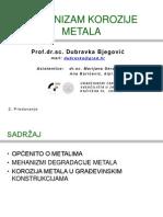 3 Pred TKM 02.Predavanje Mehanizam Korozije Metala