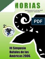 Simposio de Bufalos 2006