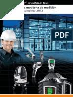Catalogo Laser Liner DCL Metrologia 2012