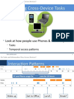 Do Tasks and Information Flow Across Devices?