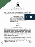 Acuerdo 45 de 2009