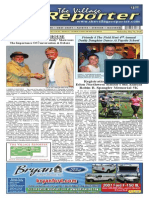 The Village Reporter - May 7th, 2014
