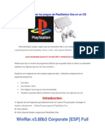 Cómo Puedo Grabar Los Juegos de PlayStation One en Un CD