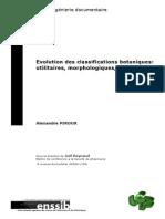 778 Evolution Des Classifications Botaniques