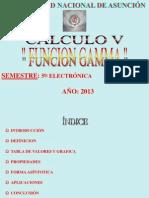 Funcion Gamma
