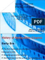 History of malayalam cinema Presentation