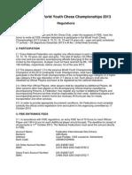 World Youth 2013 Regulations v2