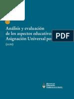 OBS - 000174 - Análisis y Evaluación de Los Aspectos Educativos de La AUH