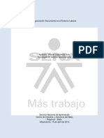 Organización Documental en El Entorno Laboral Wilmar Castañeda