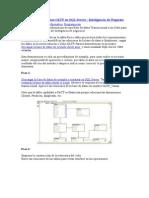 Pasos Para Crear Cubos OLTP en SQL Server