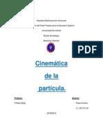 Cinemática de La Partícula