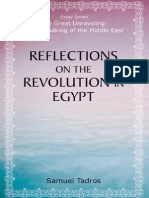 Reflections on the Revolution in Egypt, by Samuel Tadros (preview)