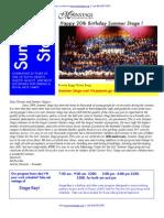 Summer Stage Brochure