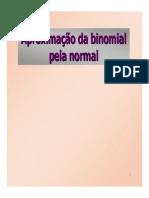 Aula 7 - Aproximacao Da Binomial Pela Normal [Somente Leitura]