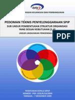 SPIP Pembentukan Struktur Organisasi