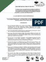 Acuerdo Metropol 002-13