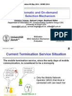 An Automatic and On-demand MNO Selection Mechanism