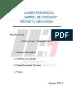 Conjunto Residencial San Gabriel Memoria Mecanica