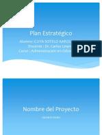 Cuya Sotelo Karol Josef Plan Estrategico
