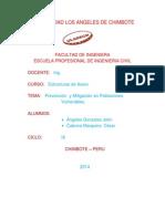Prevencion y Mitigaciones de Poblaciones Vulnerables