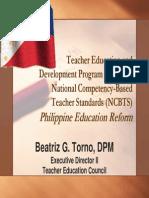 Overseas Presentation NCBTS and TSNA