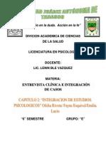Entrevista Clinica e Integracion de Casos