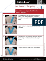 Acti-Tape Step by Step Instructions 06E