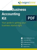 Small Business Accounting Start Up Kit