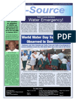 Caribbean Water and Sewerage Association E-source Newsletter Issue 1 - 2014