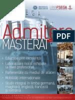 FSEGA Programe Masterat 2014
